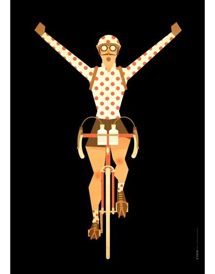 Poster A2 ''Maillot à pois''