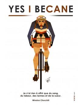Poster A2 ''Churchill''