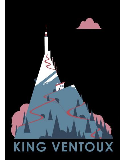 Carte Postale  ''King Ventoux''