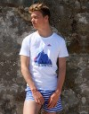 "Tee shirt homme ""King Ventoux"" blanc"