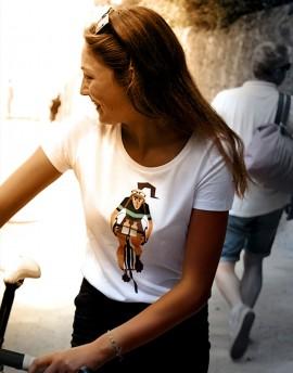 "Tee shirt femme ""Stamina'' blanc"