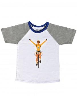 Tee shirt enfant ''maillot jaune''