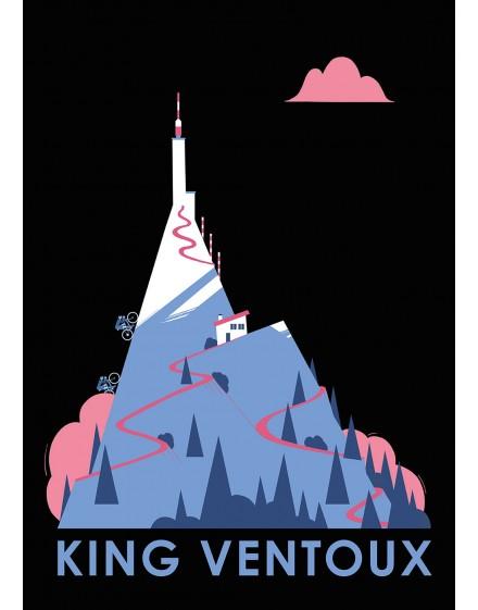 Poster A2 ''King Ventoux'' 250 grammes