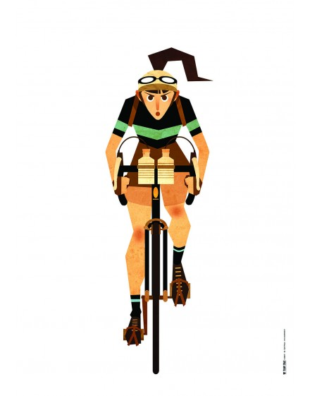 Poster A2 ''Stamina'' 300 grammes
