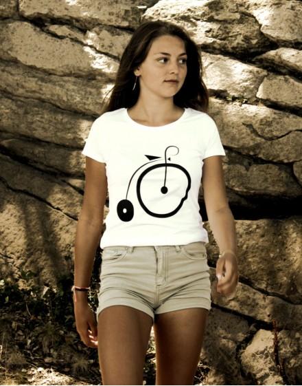 """Tee shirt femme """"GRAND BI"""" sérigraphie"""