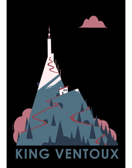 Poster King Ventoux