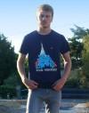 "Tee shirt homme ""King Ventoux"" noir"