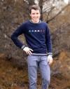 Sweat en coton bio homme ''Bleu Blanc Rouge'' édition limitée